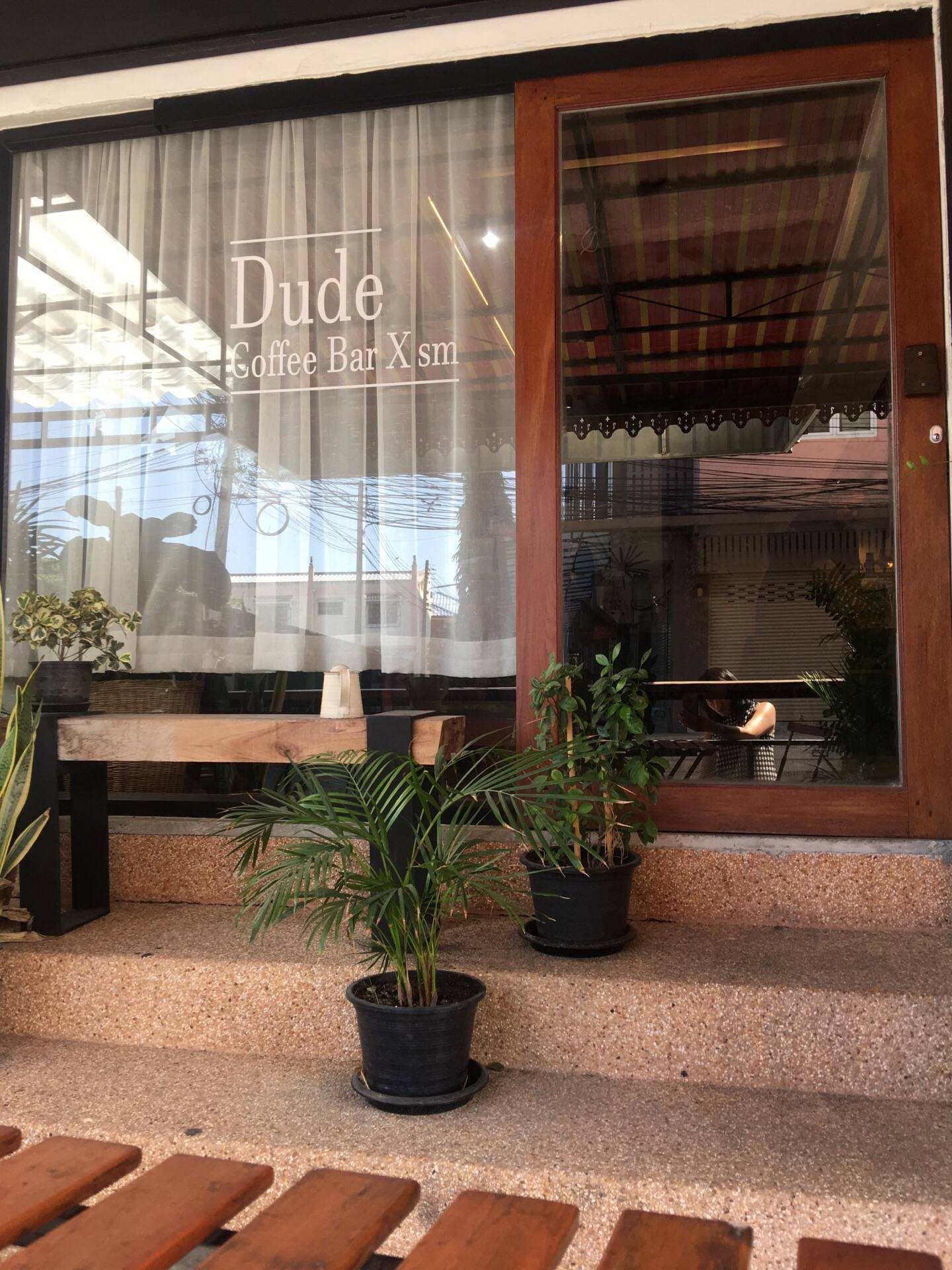 Dude Coffee Bar X SM