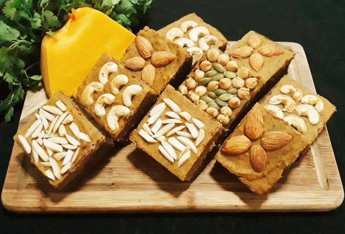 สูตร บราวนี่ฟักทอง/บราวนี่ฟักทองเพื่อสุขภาพ พร้อมวิธีทำโดย Bambi❤ - Wongnai  Cooking