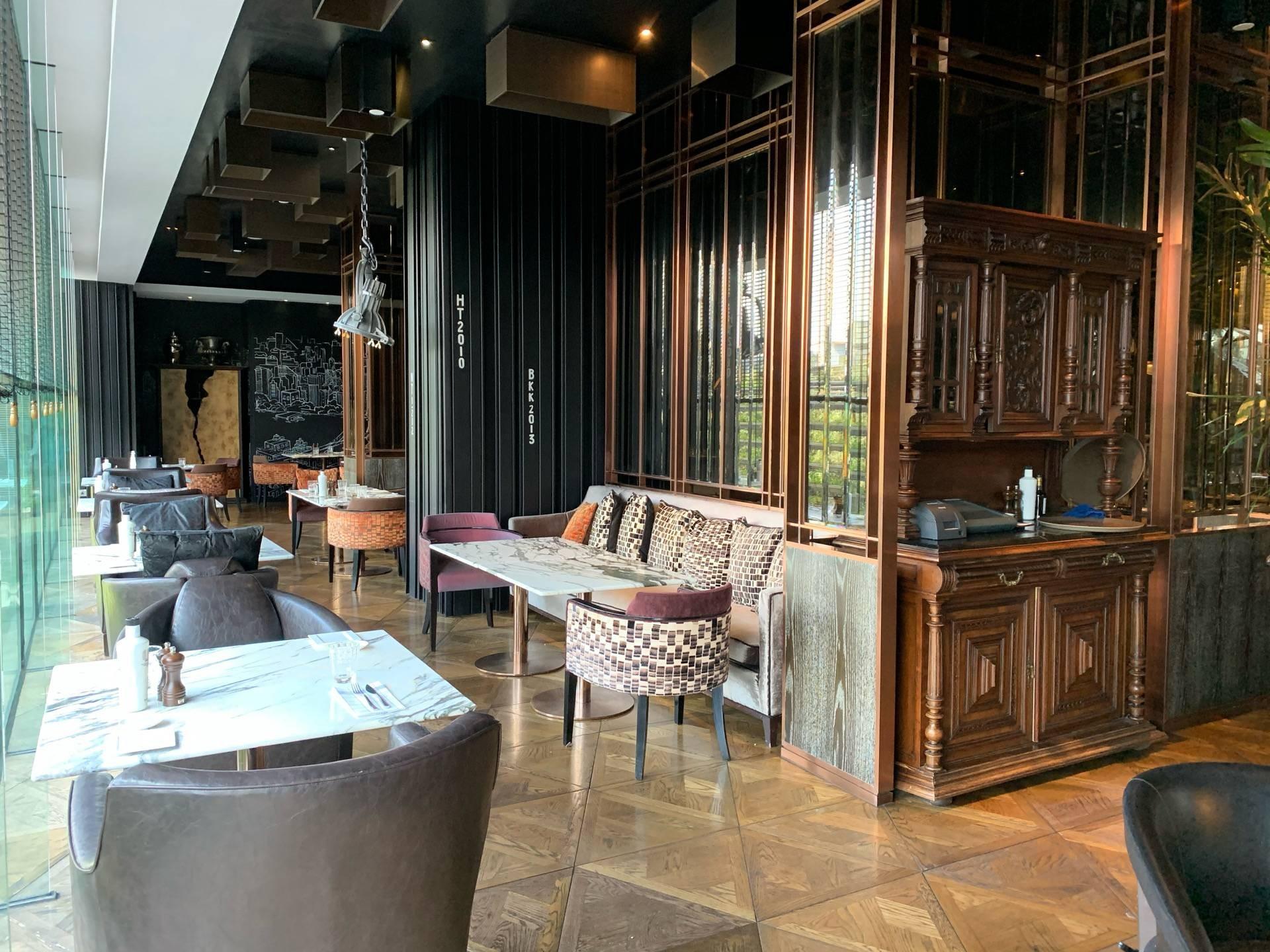 Scalini โรงแรมฮิลตัน สุขุมวิท กรุงเทพฯ