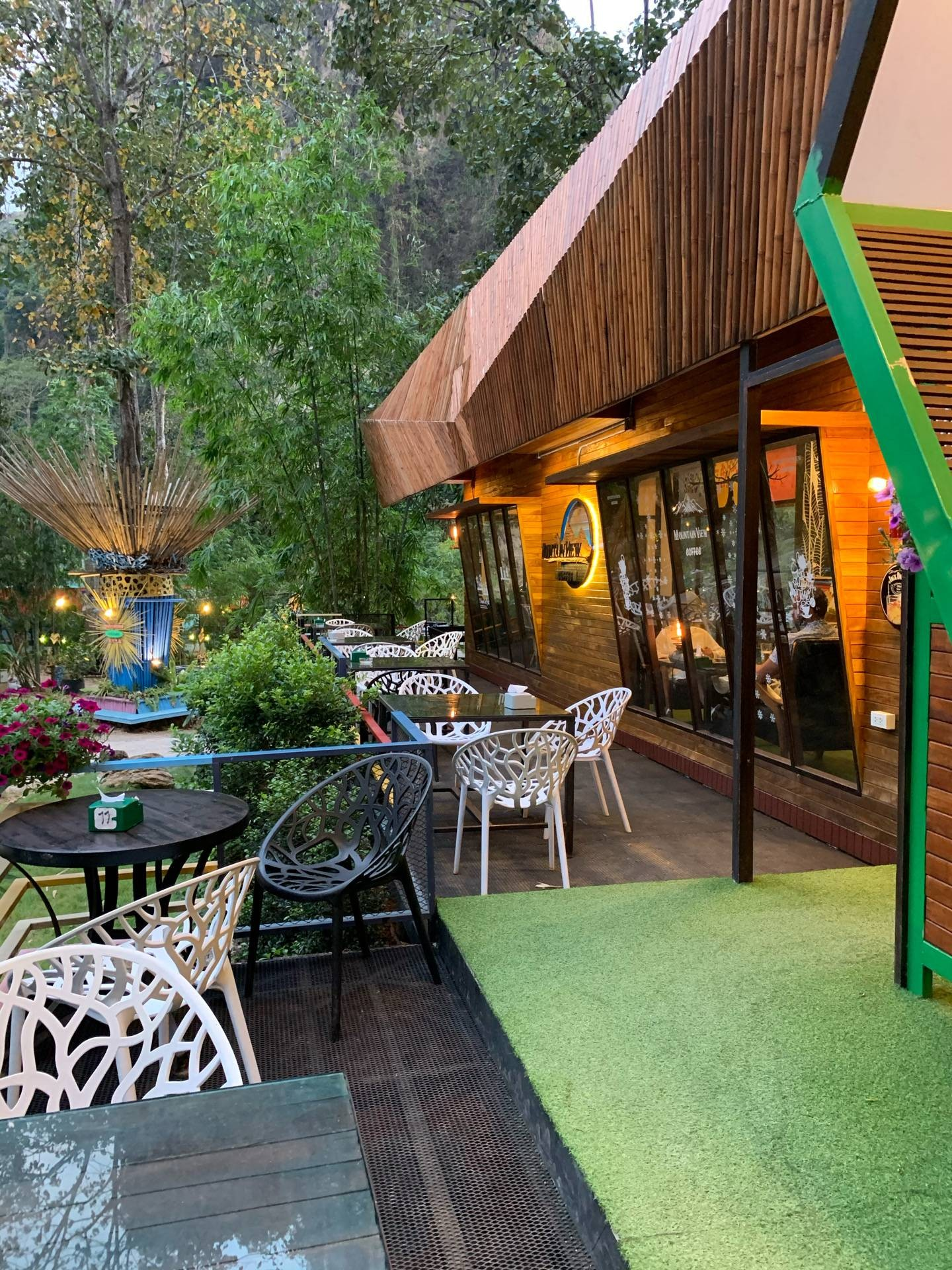 Mountain View Restaurant Aonang, Krabi กระบี่