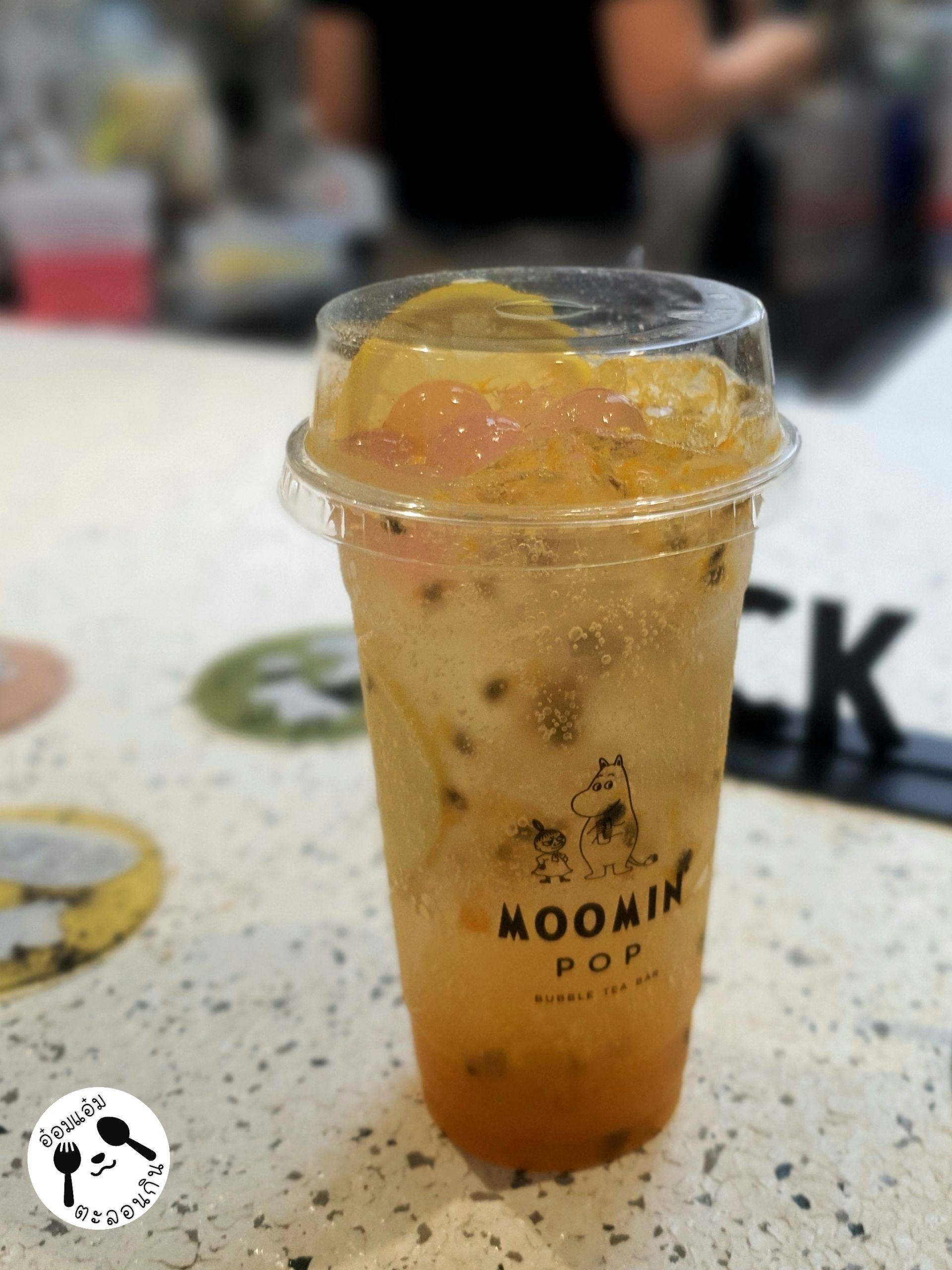 Moomin Pop Bubble Tea Bar Siam Square one
