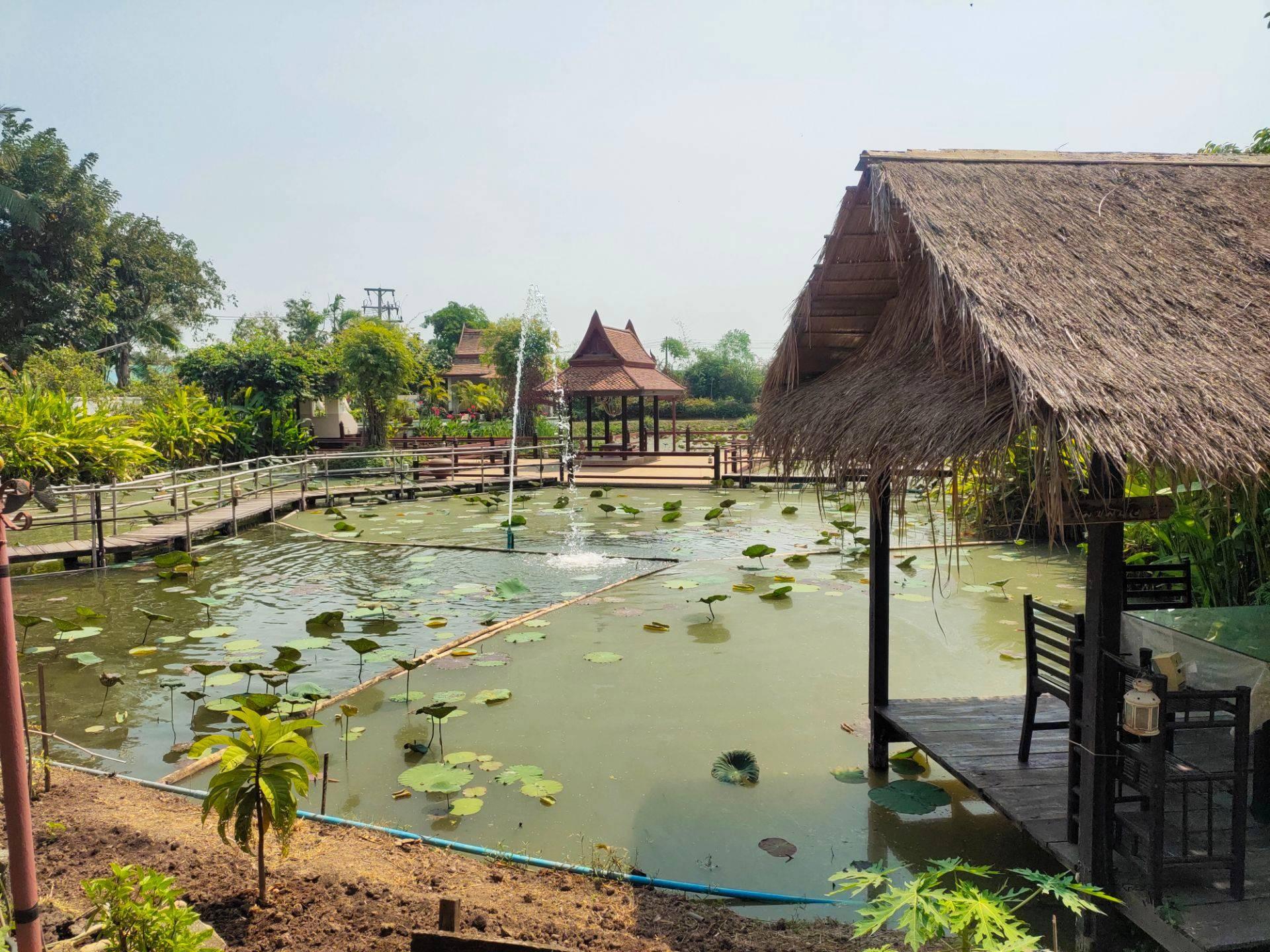 บ้านสวนริมน้ำ Ayutthaya Garden River Home