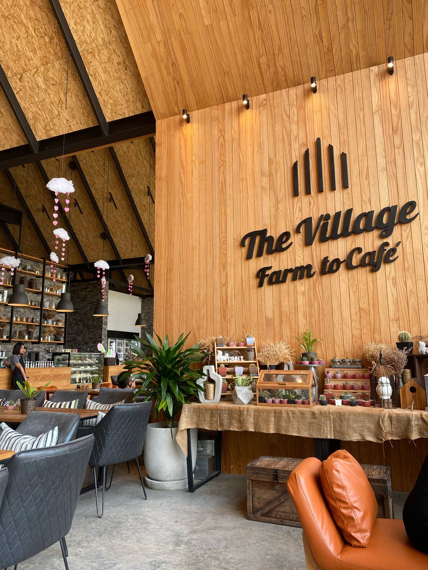 The Village Farm To Cafe'