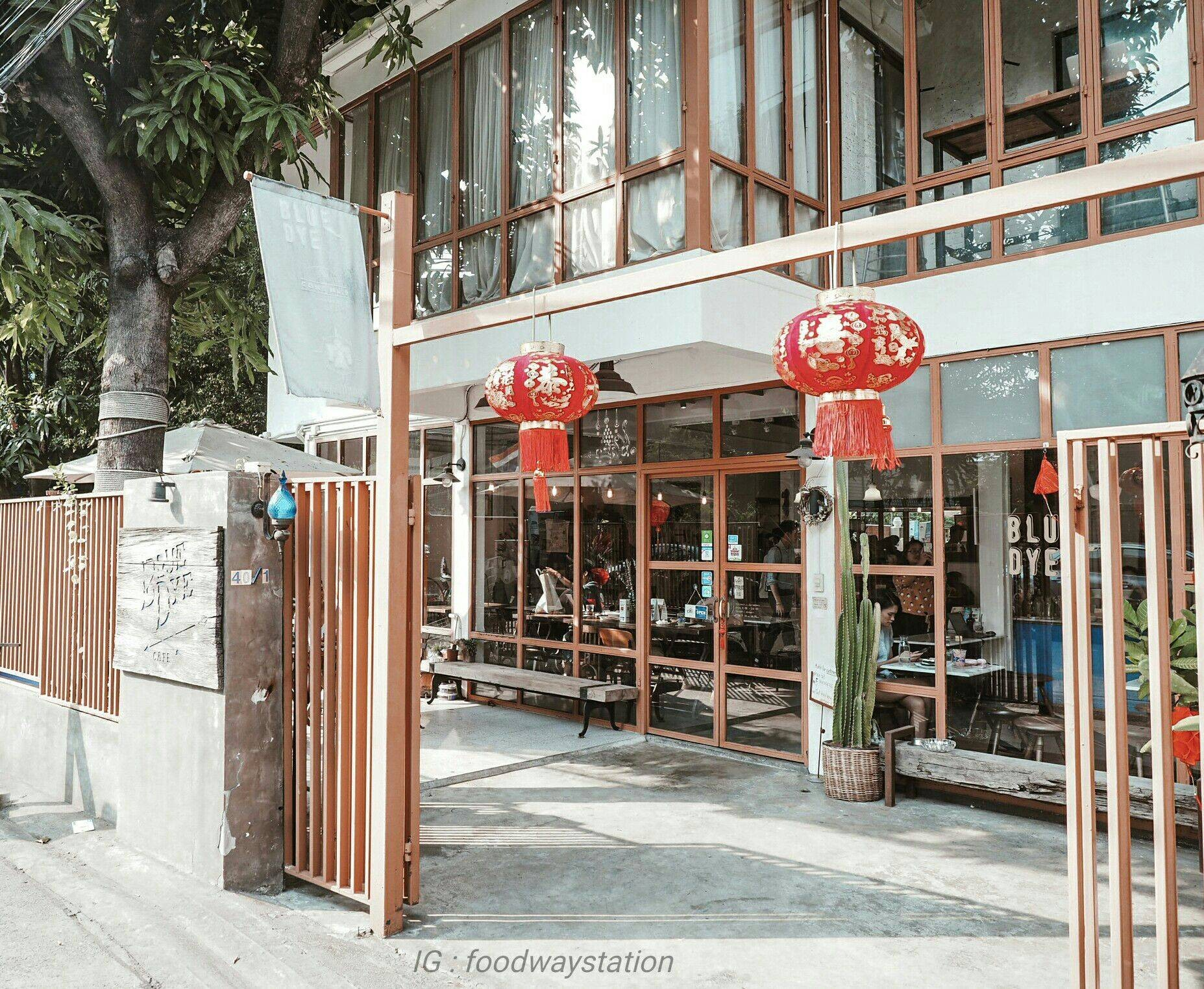 Blue Dye Cafe Sukhumvit 36