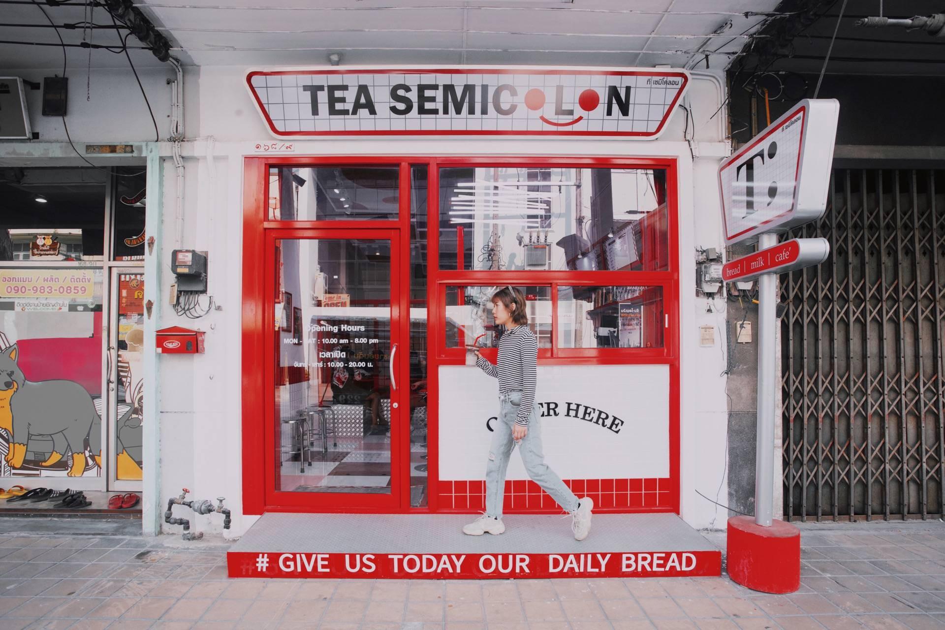 Tea Semicolon Café