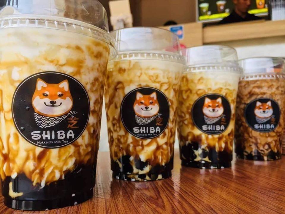 SHIBA Hokkaido Milk tea  ตลาดอินดี้ดาวคะนอง
