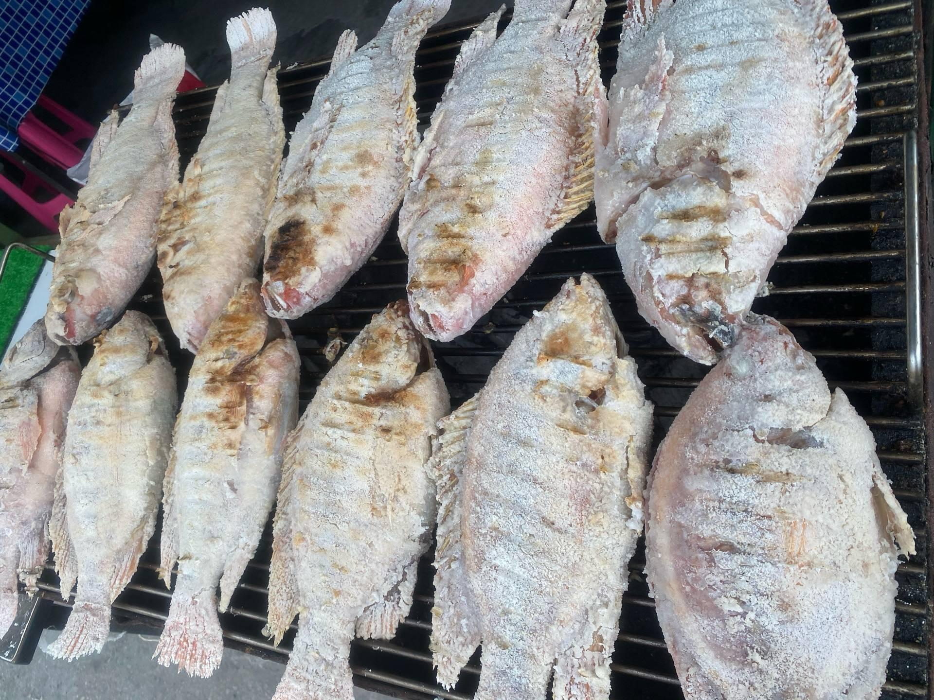 ปลาเผา ขนาด 139บาท