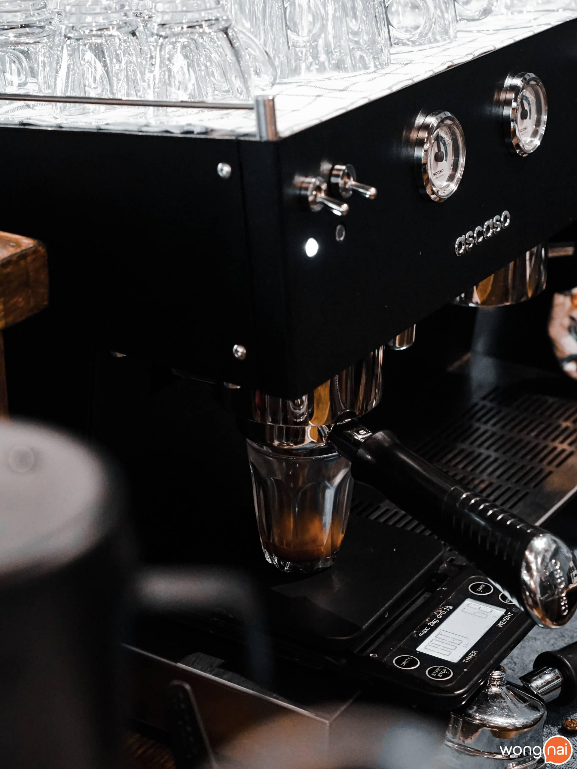 Stoneon coffee bar.