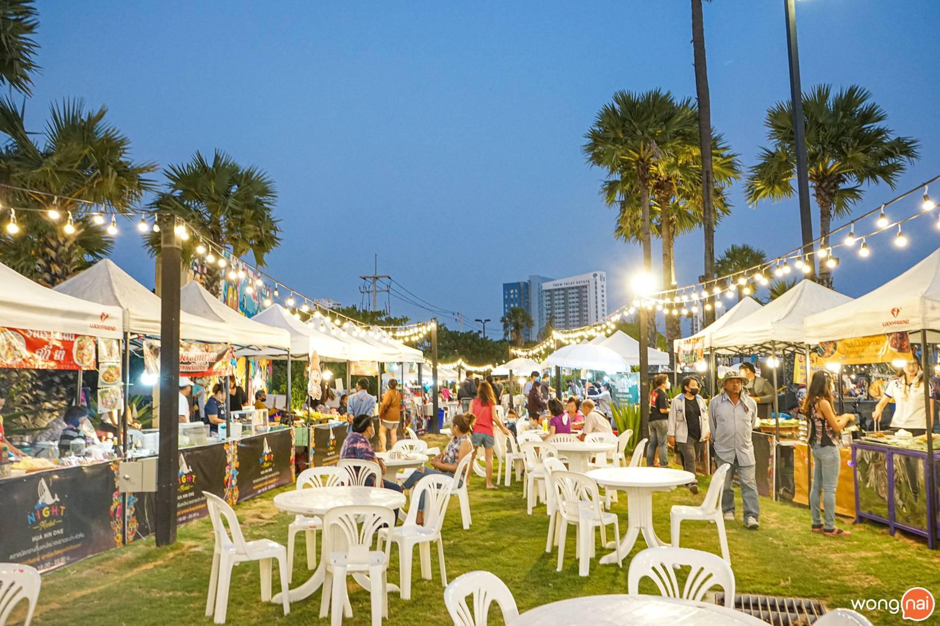 Hua Hin One Night Market.