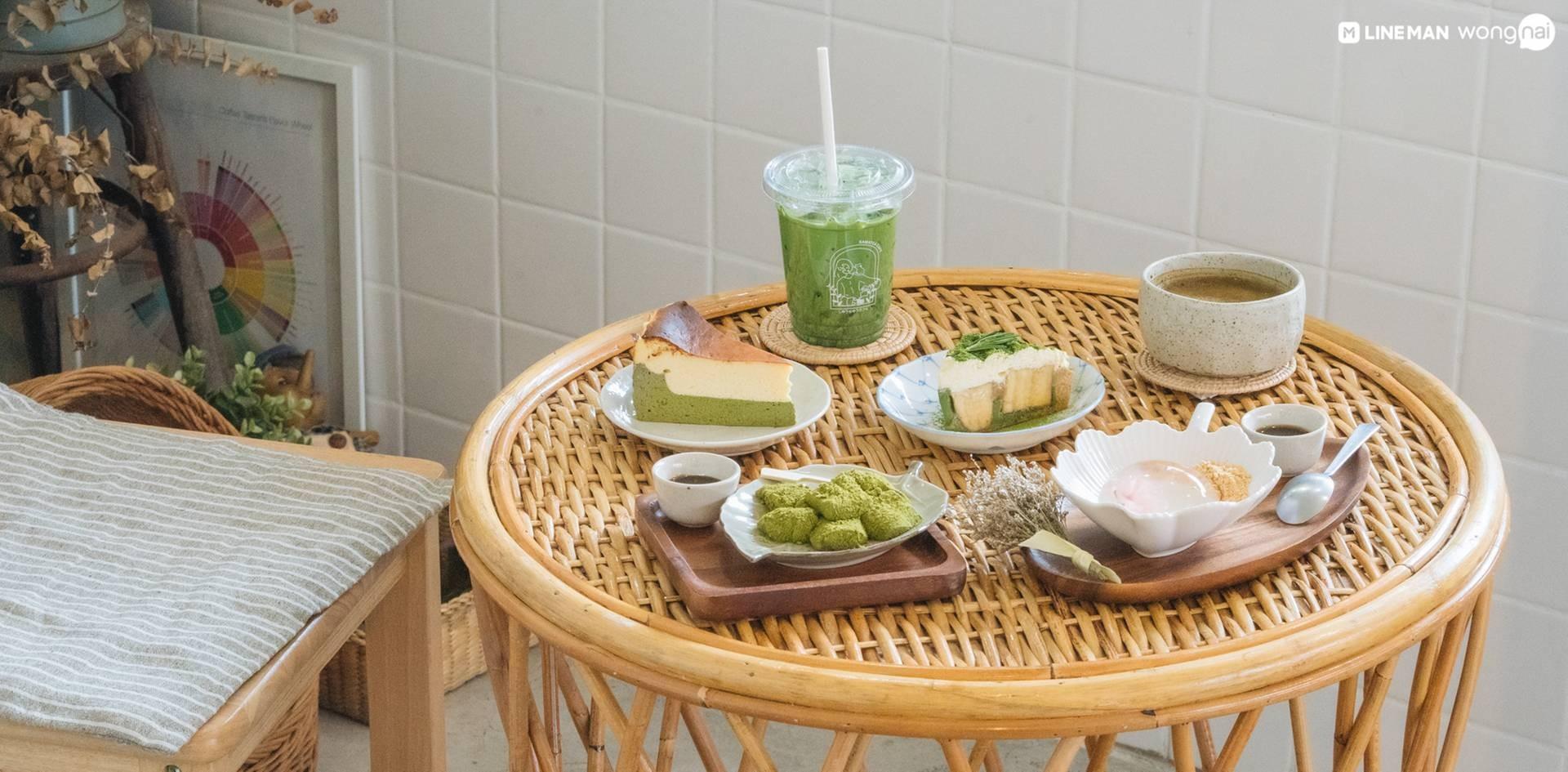 สมาธิ คาเฟ่ Samatea Cafe โรงพยาบาลเมดพาร์ค