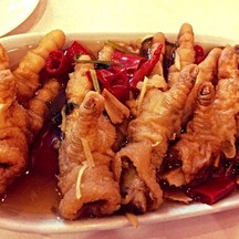 Chicken feet with Chinese soysauce @Chokedee Dimsum