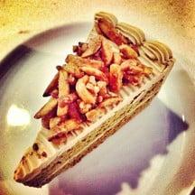 Almond Coffee Cake 65 Baht