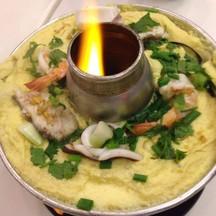 ไข่ตุ๋นทะเลหม้อไฟ นุ่มอร่อยมากกกกก