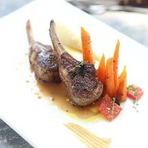 New Zealand Lambchops and baby carrot