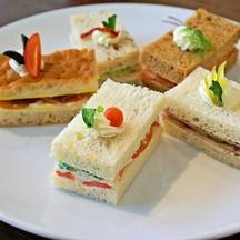 แซนด์วิช 5 ชนิด ใน Vitality Afternoon Tea Set A
