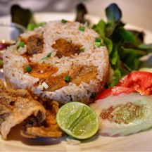 Crispy Spine Foot Fish Fried Rice