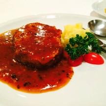 สเต็กอกไก่พริกไทยดำ ทำได้เหมือนเนื้อไก่จริงมาก มีแบบหนังๆด้วย555