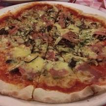 Pizza Ham &mushroom