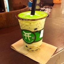 ชาเขียวไข่มุข ขนาดกลาง