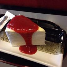 สตอเบอรี่ชีสเค้ก