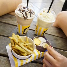 better fries , nutella , passion fruit