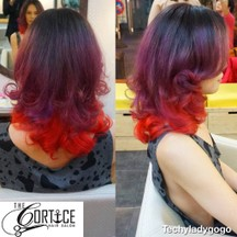 ทำสีผม The Cortice Hair Salon ไล่สีสวยสด 3 ระดับ