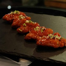 ☆☆☆☆chicken Wings Beerlao Infused BBQsauce185.- นุ่ม ขาดรสแซ่บไปนิด