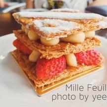 Mille Feuille เห็นว่าอ่านว่า มิวเฟย นึกว่าขนมจีนซะอีก