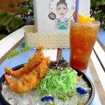 เมนูคลายร้อนกับ บะหมี่เย็นกุ้งเทมปุระกับชามะนาว ราคาเบาๆๆ ชุดละ119