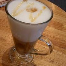 Hot Honey Café Latte