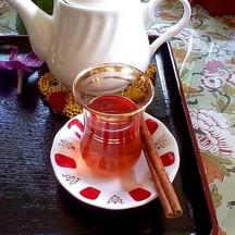 Turkish Pomegranate Cinnamon Tea