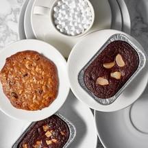 Flourless Chocolate Cake และ Homemade Organic Soft Cookie