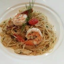 Angel Hair Shrimps And Crabs