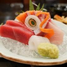 ปลาดิบในเมนูอาหารประจำวัน Hikawari Zen