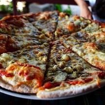 Stefano Beef Pizza