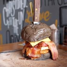 Beef Burger ราคา195฿