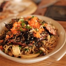 Spaghetti With Smoked Duck Breast