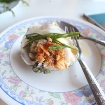 หอยตัวไม่ใหญ่มาก กำลังพอดีคำ กินเข้าไปด้วยความหวังเต็มเปี่ยม แต่มันไม่ค่อยหวานอ่