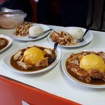ไก่ครีมมะนาว กะหรี่ไข่ M และกะหรี่ไข่ L