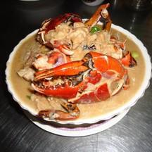 ปูทะเลหลน สมุนไพร ตัวใหญ่ อร่อย สด รสชาดถูกใจ ต้อง ไสวอาหารทะเล