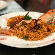 River Shrimp Pasta