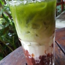 Green Tea with Anko