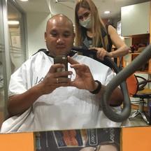 Between Hair Cutting