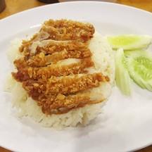 ข้าวมันไก่ทอด (35 บาท)