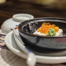 Grilled Sesame Tofu With Ikura