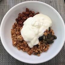 Yogurt&granola+musli