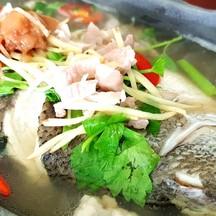 น้ำซุปรสกลมกล่อม เนื้อปลาสดแน่น