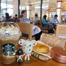 หมีน้อยสตาร์พา Barista Boy เที่ยว @ Starbucks Bitec Bangna