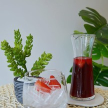 ชาเย็นผลไม้รวม mix fruit iced tea