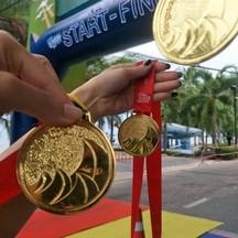 เหรียญงานเดิน-วิ่ง บางเสร่ 2018